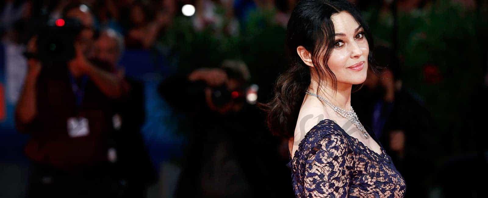 Pilar López de Ayala, Mónica Bellucci: duelo de bellezas en la ceremonia de clausura en Venecia