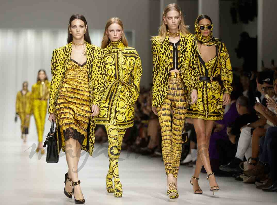milan fashion week versace