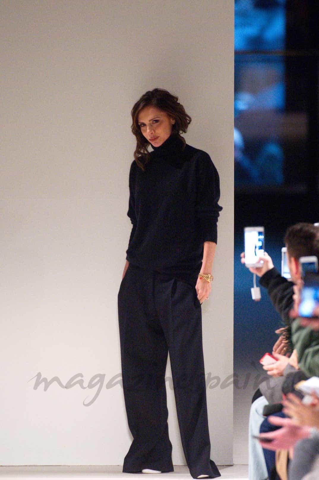 new york fashion week otono invierno victoria beckam