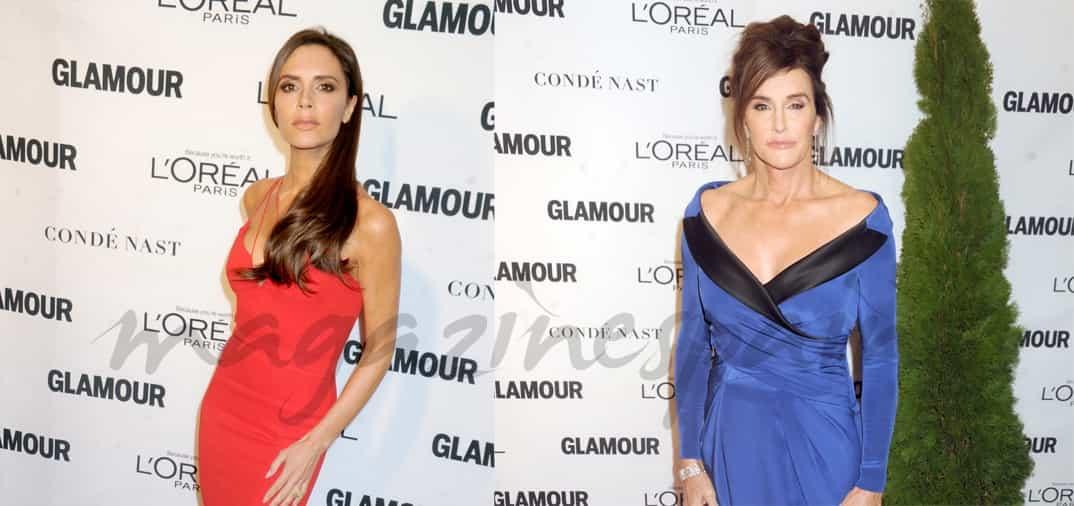 Victoria Beckham y Caitlyn Jenner, mujeres del año