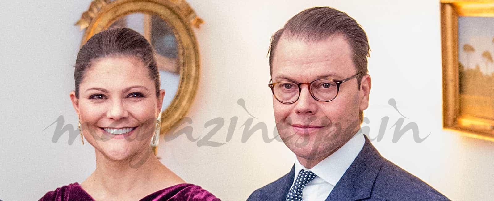 Los príncipes Victoria y Daniel de Suecia visitan Roma y Milán