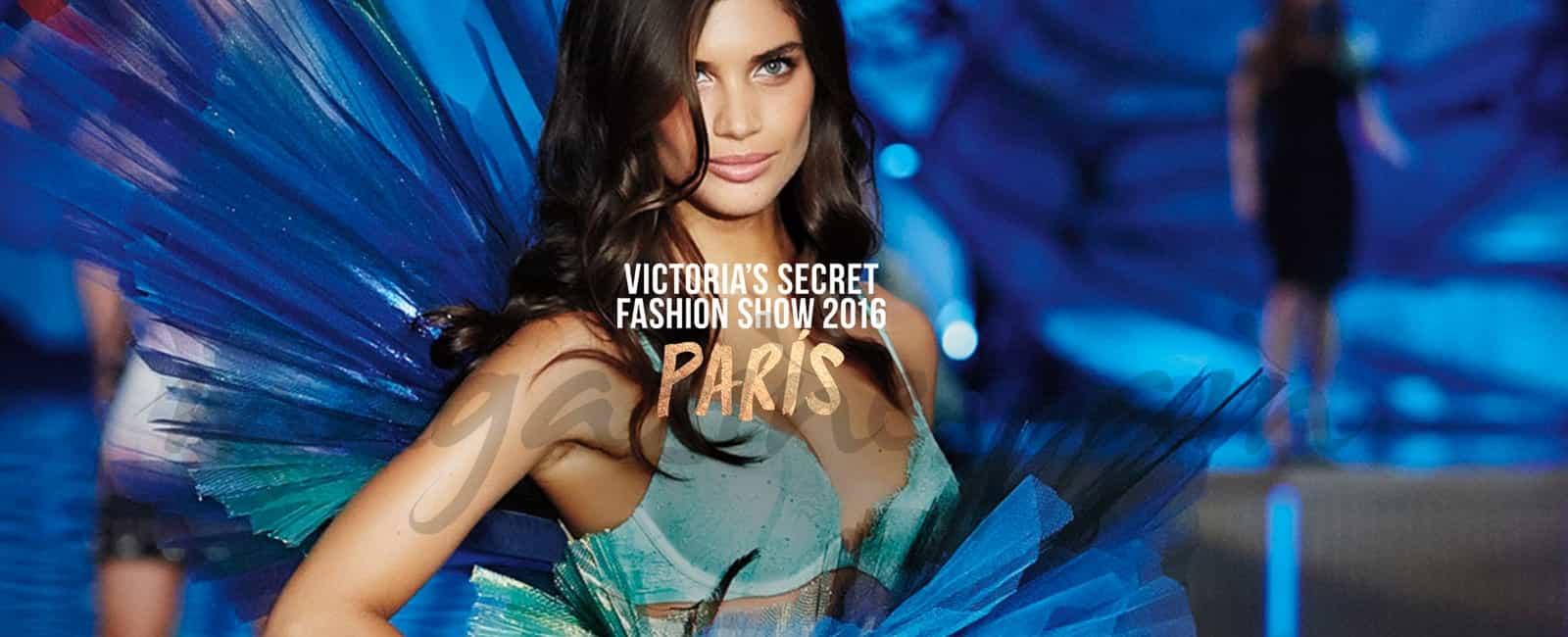Los ángeles de «Victoria's Secret» llegan a París