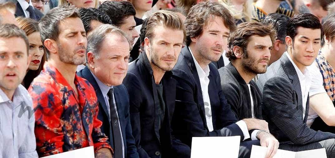 David Beckham fiel seguidor de la moda de Louis Vuitton