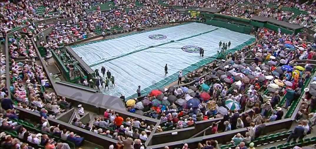 Los famosos se divierten en Wimbledon