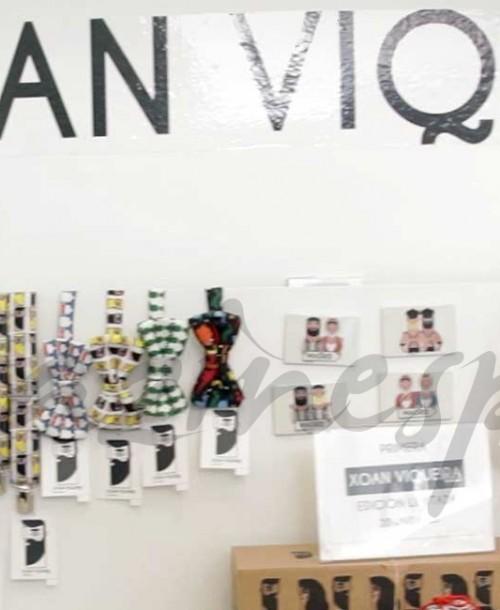 La moda con arte… Fran Larrañaga en Xoan Viqueira