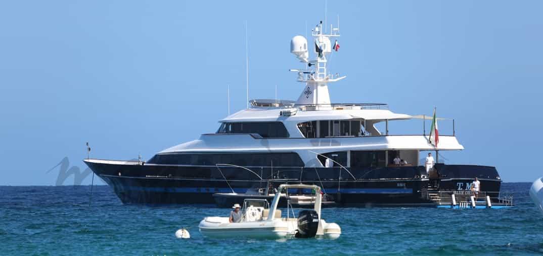 Valentino, vacaciones con Rosario Nadal